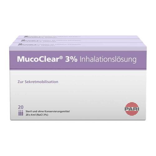 Mucoclear 3% Nacl Inhalationslösung - 1