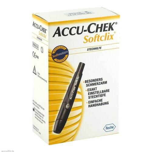 Accu Chek Softclix schwarz - 1
