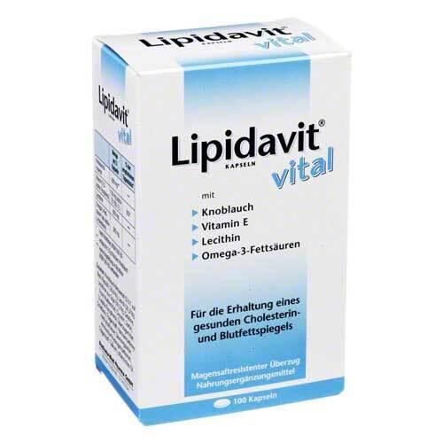 Lipidavit Vital Kapseln - 1