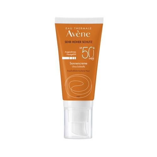 Avene Sonnencreme SPF 50+ ohne Duftstoffe - 1
