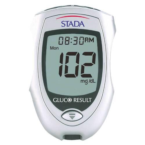 STADA Gluco Result Blutzuckermessgerät mg / dl - 1