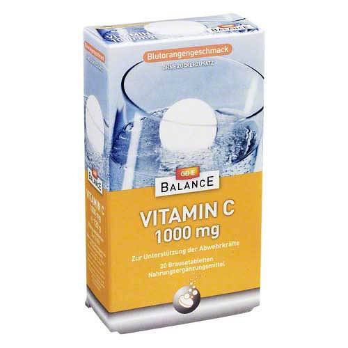 Gehe Balance Vitamin C 1000 mg Brausetabletten - 1