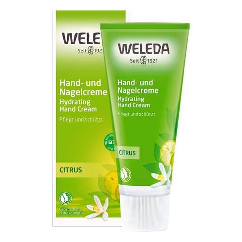 Weleda Citrus Hand- und Nagelcreme - 1
