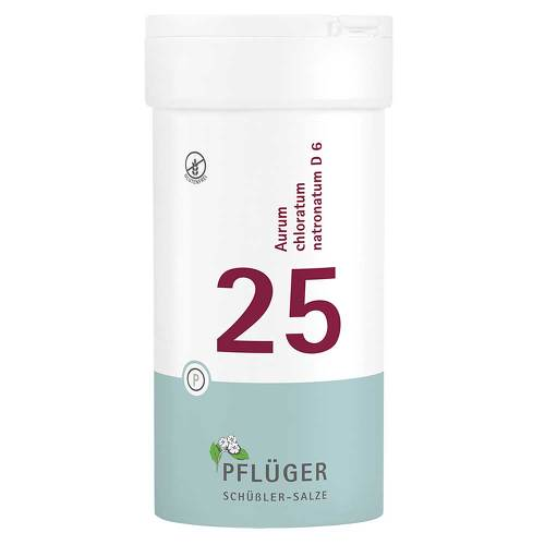 Biochemie Pflüger 25 Aurum chloratum Natrium D 6 Tabletten - 1