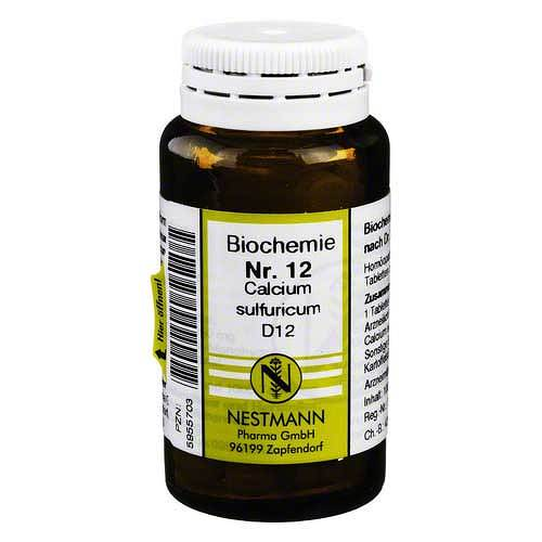 Biochemie 12 Calcium sulfuricum D 12 Tabletten - 1