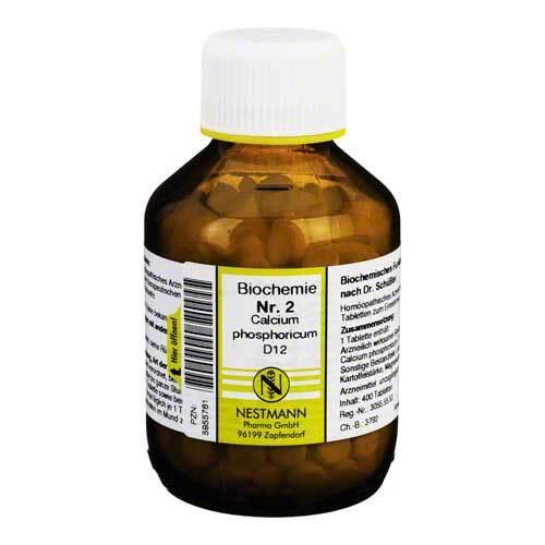 Biochemie 2 Calcium phosphoricum D 12 Tabletten - 1