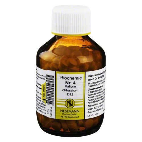 Biochemie 4 Kalium chloratum D 12 Tabletten - 1