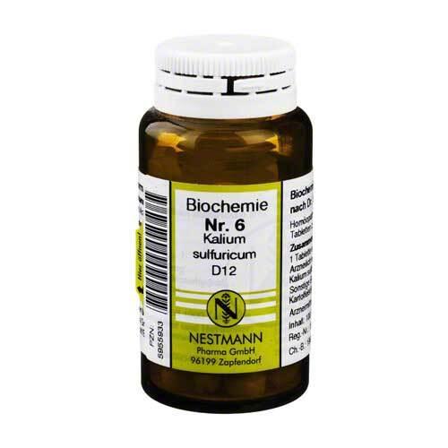 Biochemie 6 Kalium sulfuricum D 12 Tabletten - 1