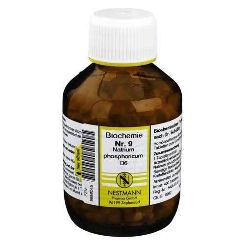 Biochemie 9 Natrium phosphoricum D 6 Tabletten - 1