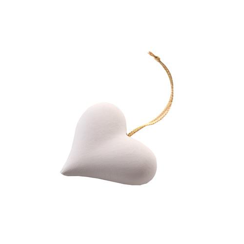 Duftstein Set Herz weiß - 1