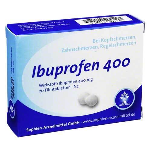Ibuprofen Sophien 400 Filmtabletten - 1