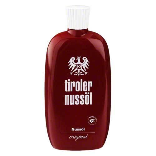 Tiroler Nussöl original Nussöl wasserfest - 1
