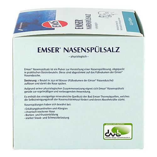 Emser Nasenspülsalz physiologisch Beutel - 3