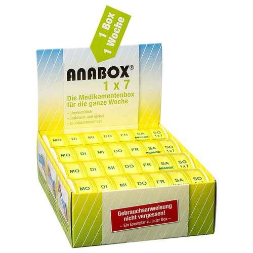 Anabox 1x7 gelb - 2
