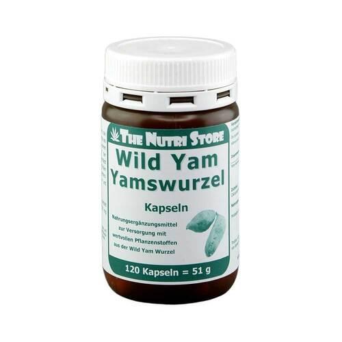 Yamswurzel Wild Yam 250 mg Kapseln - 1