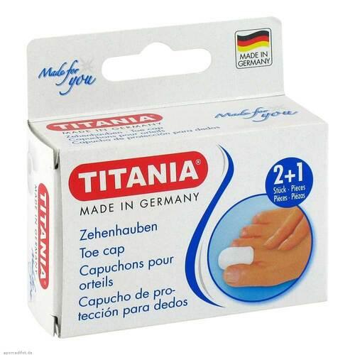 Zehenhauben 2 klein und 1 groß Titania - 1
