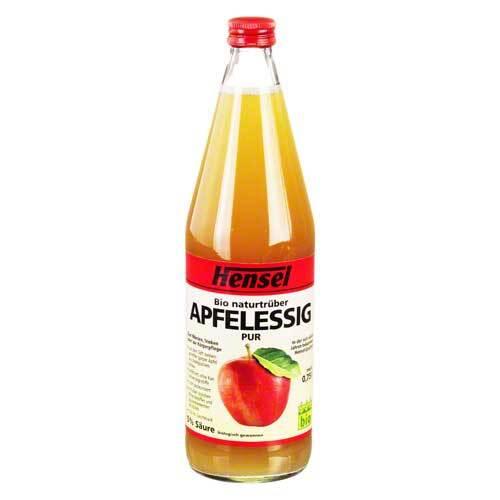 Hensel Apfelessig naturtrüb bio - 1