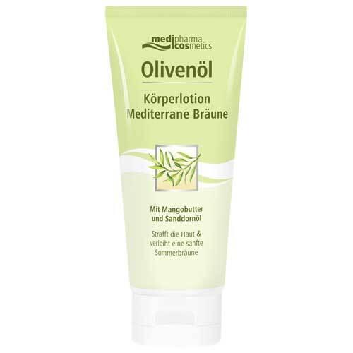 Olivenöl Körperlotion Mediterrane Bräune - 1