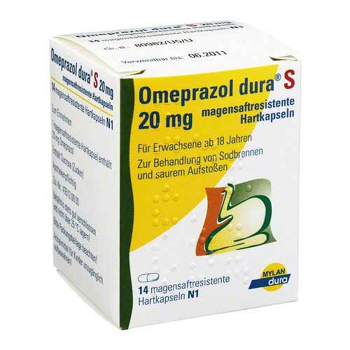 Omeprazol dura S 20 mg magensaftresistente Kapseln - 1