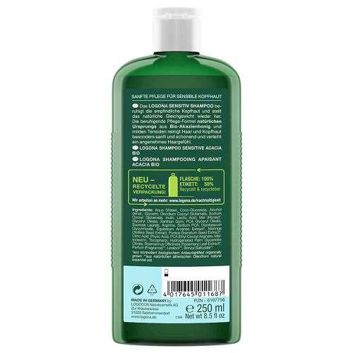 Logona Sensitiv Shampoo Bio Akazie - 2