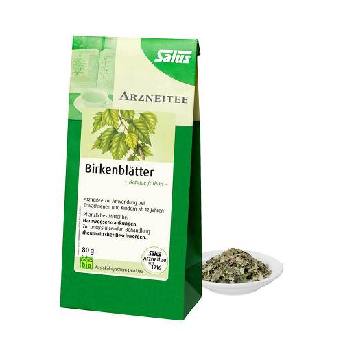Birkenblätter Tee Bio Betulae folium Salus - 1