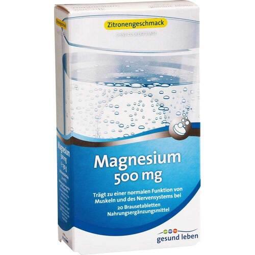 Gesund Leben Magnesium 500 mg Brausetabletten - 1