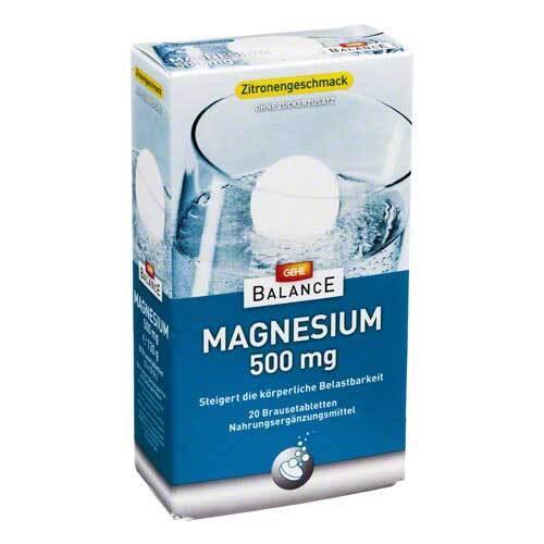 Gehe Balance Magnesium 500 mg Brausetabletten - 1
