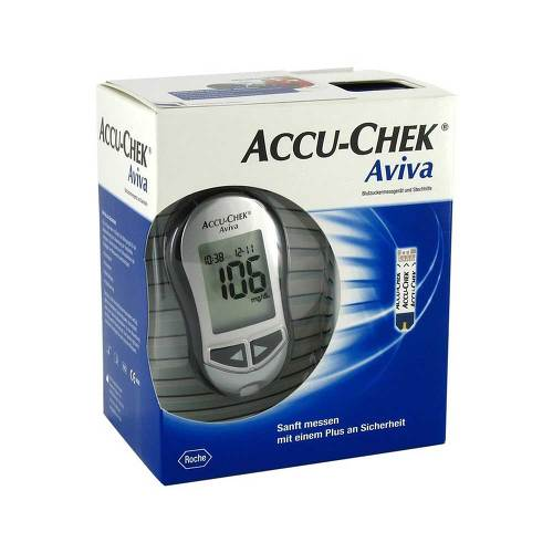 Accu Chek Aviva III Set mg / dl - 1