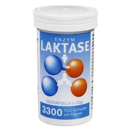 Laktase 3300 FCC Enzym Kapseln - 1