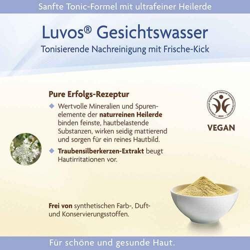 Luvos Naturkosmetik mit Heilerde Gesichtswasser - 4