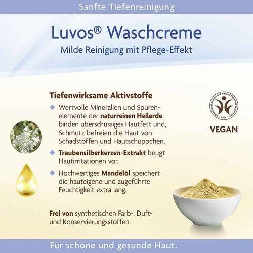 Luvos Naturkosmetik mit Heilerde Waschcreme - 4