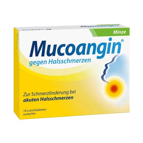 Mucoangin Minze 20 mg Lutschtabletten - 1