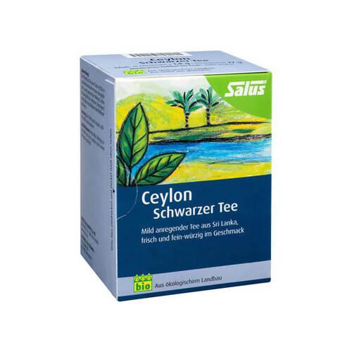 Ceylon Schwarzer Tee bio Salus Filterbeutel - 1