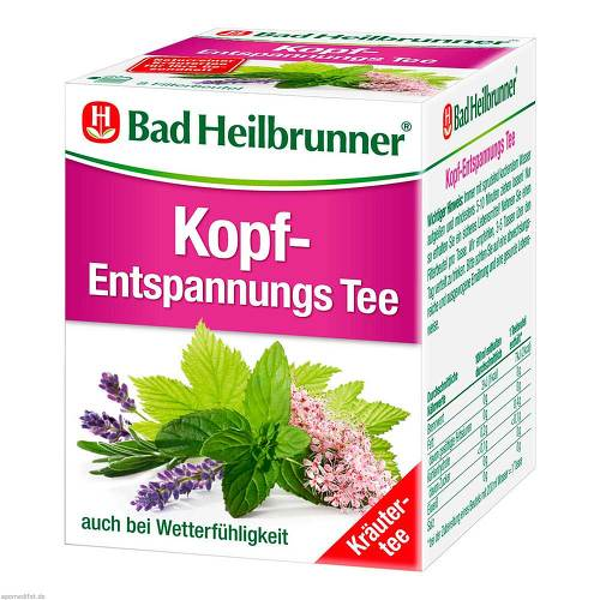 Bad Heilbrunner Tee Kopf Entspannung Filterbeutel - 1