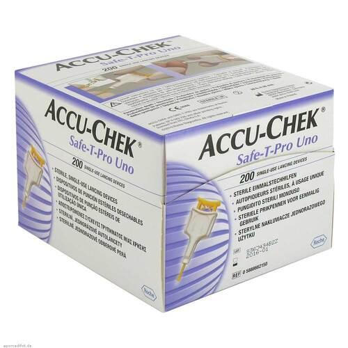 Accu Chek Safe T Pro Uno II Lanzetten - 1