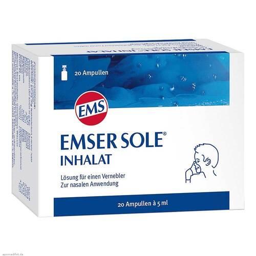 Emser Sole Inhalat Inhalationsampullen - 1