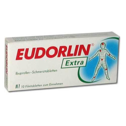 Eudorlin extra Ibuprofen Schmerztabletten - 1