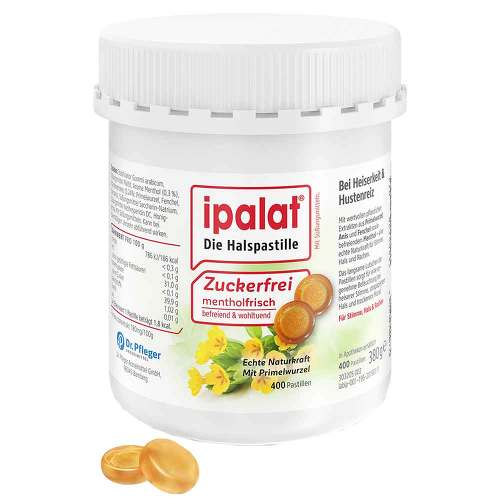 Ipalat Halspastillen zuckerfrei - 1