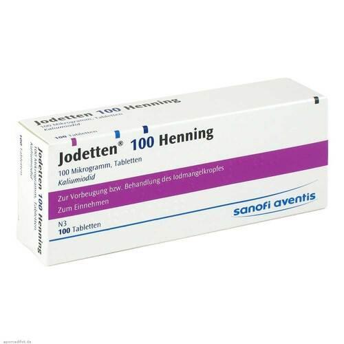 Jodetten 100 Henning Tabletten - 1