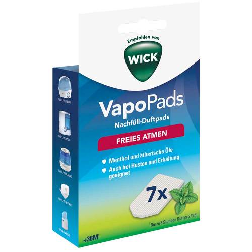 WICK Vapopads 7 Menthol Pads WH7 - 1