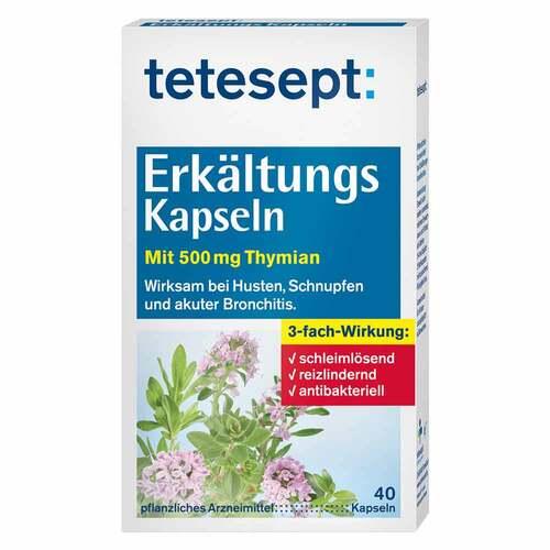 Tetesept Erkältungs-Kapseln - 1