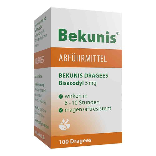Bekunis Dragees Bisacodyl 5 mg magensaftresistent