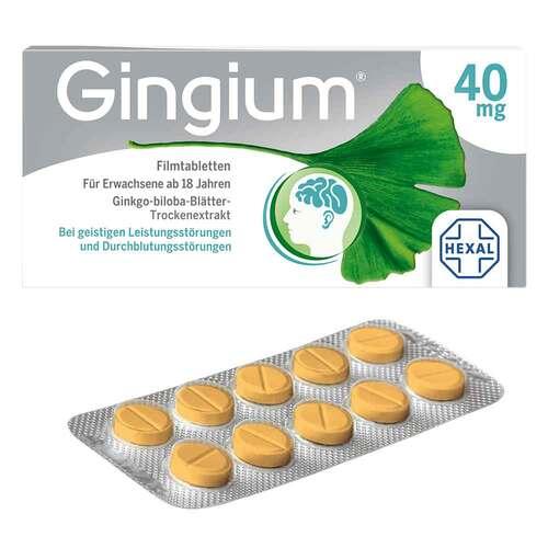 Gingium 40 mg Filmtabletten - 3