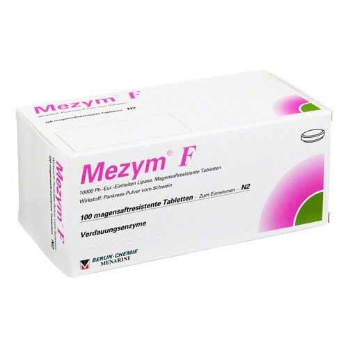 Mezym F magensaftresistente Tabletten - 1