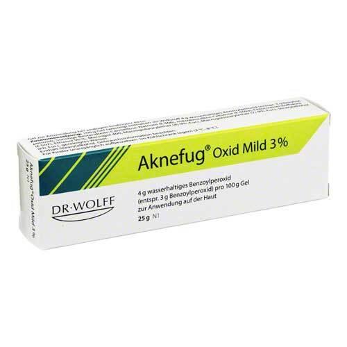 Aknefug oxid mild 3% Gel - 1