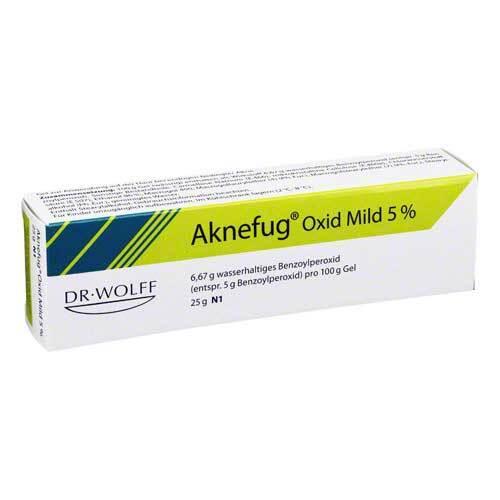 Aknefug oxid mild 5% Gel - 1