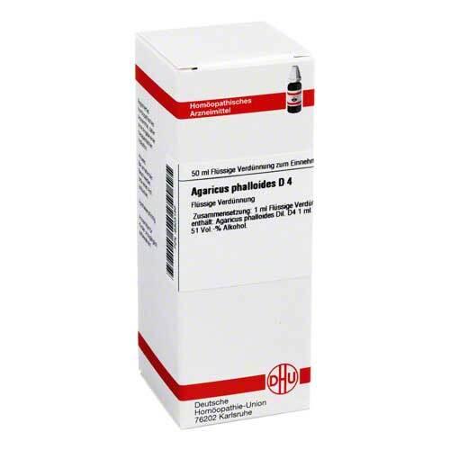 Agaricus Phalloides D 4 Dilution - 1