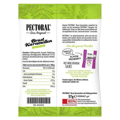 Pectoral Brustkaramellen zuc - 2