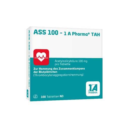 ASS 100 1A Pharma TAH Tabletten - 1