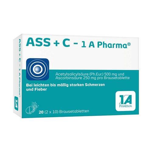 ASS + C 1A Pharma Brausetabletten - 1